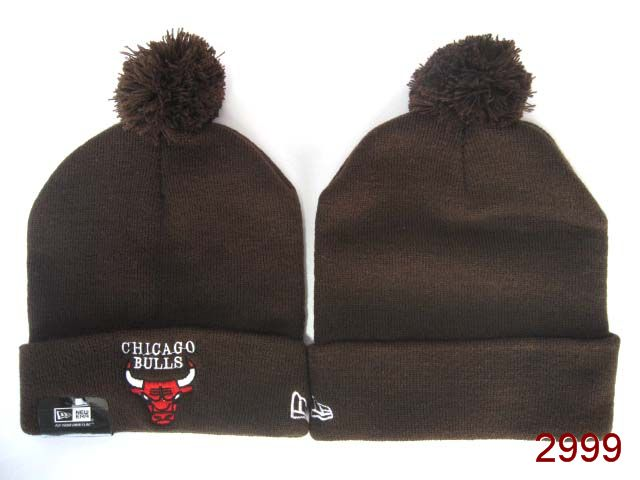 NBA Chicago Bulls Beanie Brown 1 SG
